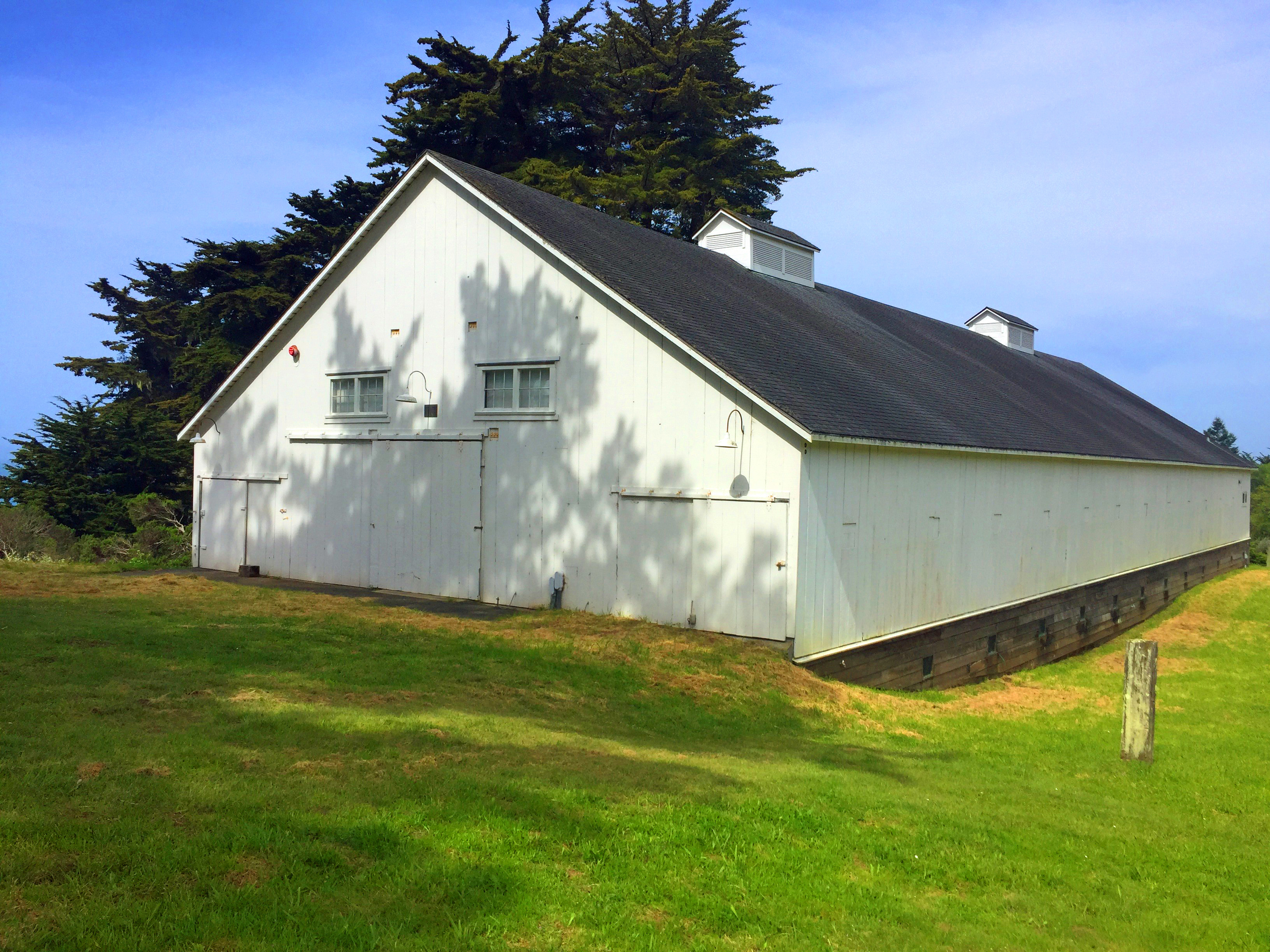 Knipp Stengel Historic Barn @ Ohlson Center, location for Sea Ranch Thespian Productions